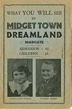 Dreamland Midget Town programme 1930s | Margate History