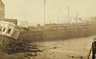 Storm damage to Pier 1877 | Margate History