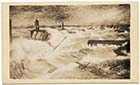 Drawing of the storm at Margate 1877 | Margate History