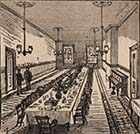 Dane Hill House School Dining Hall 1888 [Advert]