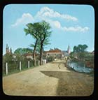Birchington Canterbury Road and Pond [Lantern Slide]  | Margate History