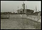Crowded Pier and Droit House [Lantern Slide]| Margate History