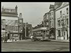 Tram at junction of Parade and  Paradise Street [Lantern Slide] | Margate History