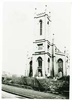 Trinity church after bomb damage | Margate History