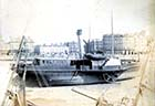 Harbour and SS Cambria,  Parade,19 May 1892 [Hobday] Margate History