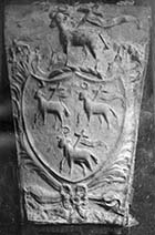 Shield on Flint House [Hobday] Margate History