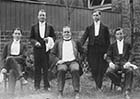 Kingscliffe Hotel, waiters 1911  [Lyn Offord] Margate History