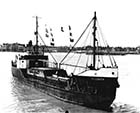 Fluidity -last Coal Boat leaving Harbour  3rd May 1958 | Margate History