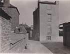 Rear of Nos 9 10 11 Castell's Gardens King Street looking East c1950 | Margate History