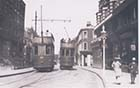 Trams Nos 20 and 14 Cliftonville Parade Northdown Road 1922 | Margate History