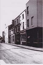 Zion Place 1950s looking South, high numbers | Margate History