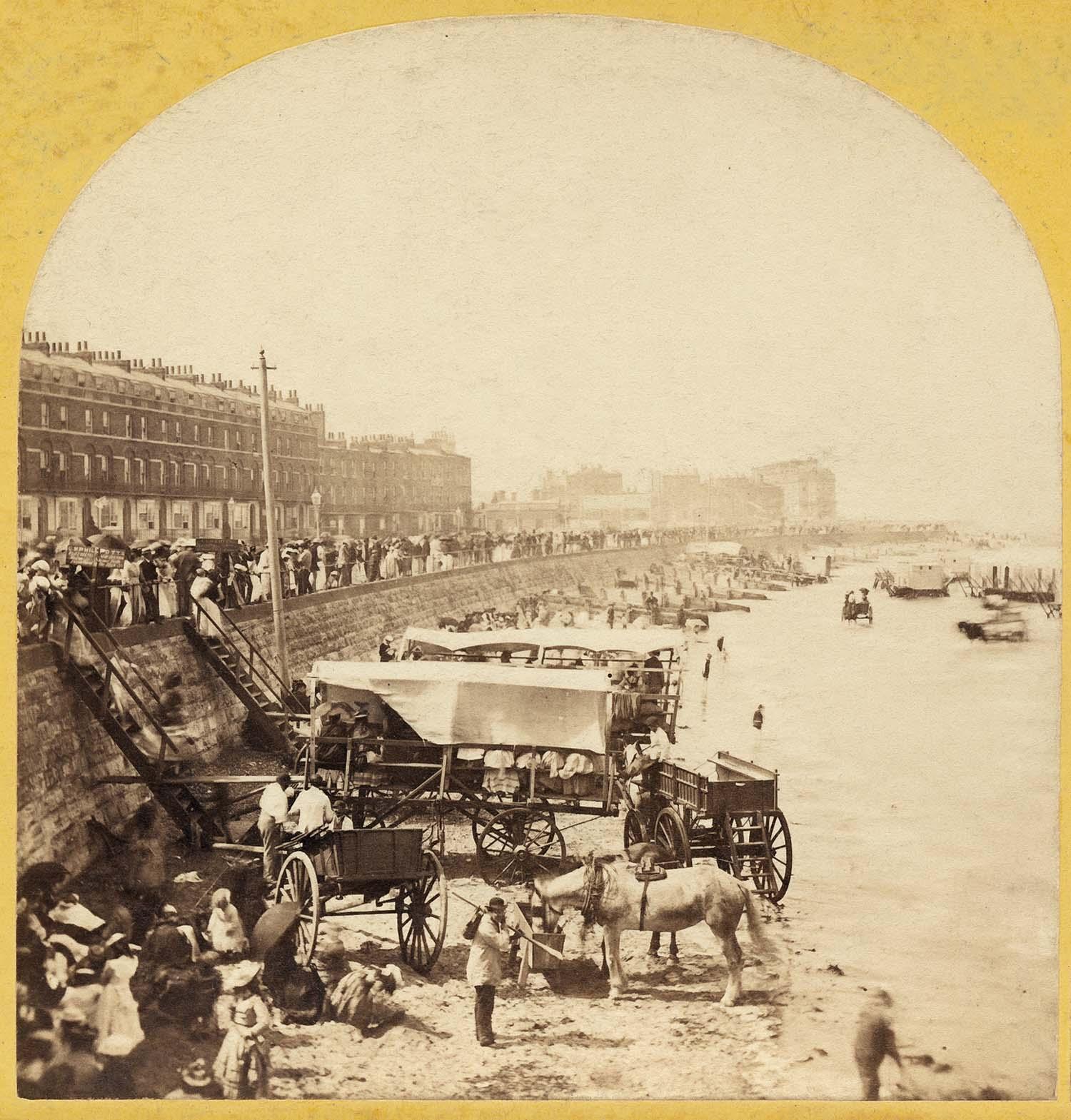 Marine Terrace Sands Margate 1873   Margate History