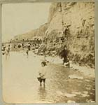 Cliffs and Pettman Bathing Station [Henry Borton] right | Margate History
