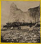 Cliffs from the beach [James Stodart]| Margate History