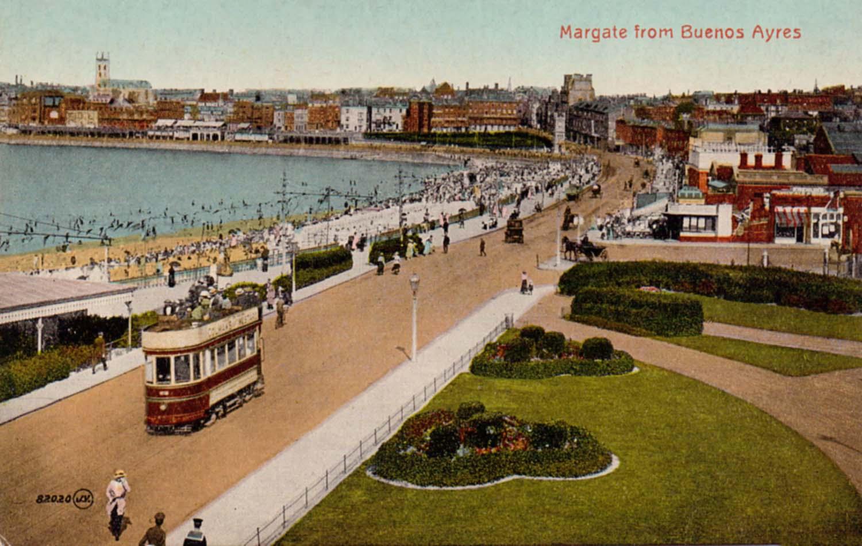 Marine Terrace Margate Trams | Margate History