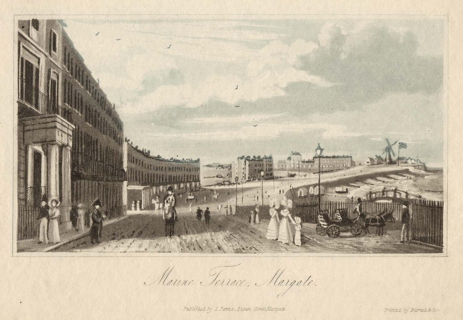 Prints of margate published by local publishers margate for 16 marine terrace