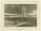 North Foreland Lighhouse [Daniell 1823] | Margate History