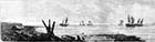 The Late gale: Ships ashore opposite the Parade, Margate 1877 | Margate History