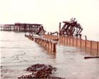 Jetty demolition 1979  | Margate History