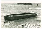 Lighter aground September 1979 | Margate History