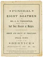 Funeral Service page 1 | Margate History