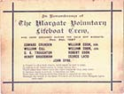 Remembrance card 1897 | Margate History
