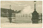 Storm March 1906 slipway in front of Clock Tower | Margate History