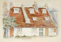 Cottages in Nepture Square 20th century Margate History