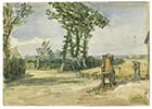 Margate countryside [July 1842 Thomas Grieve] | Margate History