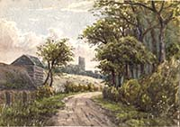 On the Road to St Peters ca 1860 Margate History