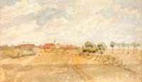 View of Margate from St Peters Road 1852 Margate History